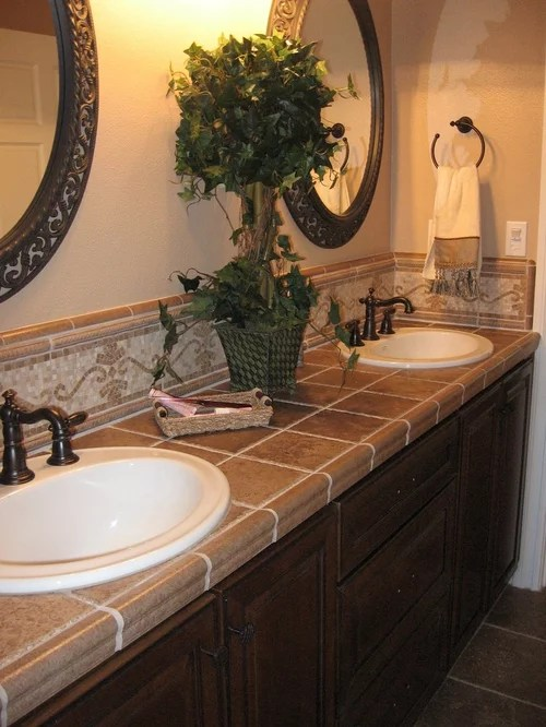 Tuscan Bathroom Houzz