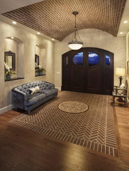 Herringbone Brick Floor Home Design Ideas Pictures