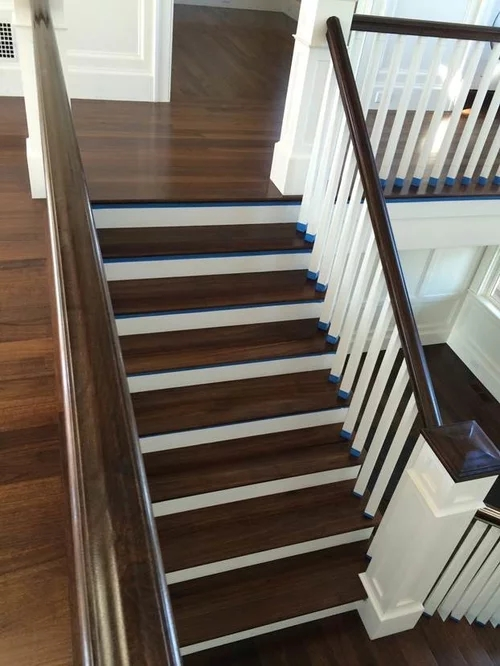 Custom Wooden Stair Treads And Risers   Wood Stair Treads And Risers