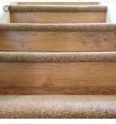Carpeting Stair Treads Only   Wrapping Stair Treads With Carpet   Stairway Remodel   True Bullnose   Non Slip   Wood Stairs   Oak Valley
