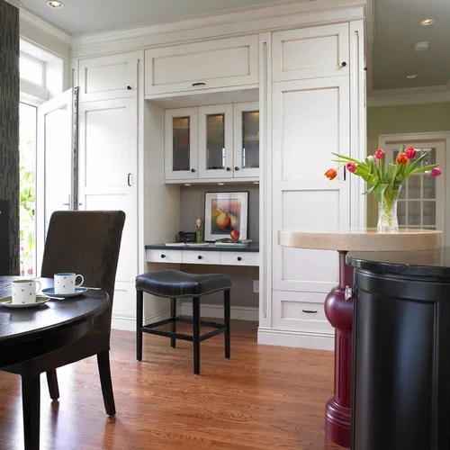 Kitchen Desk Area Home Design Ideas Pictures Remodel And