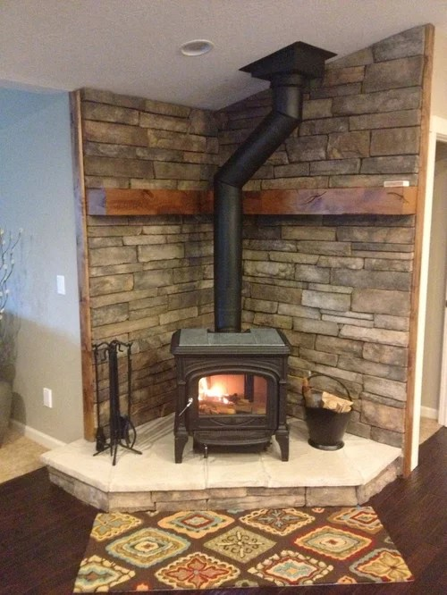 Wood Stove Hearth Home Design Ideas Pictures Remodel And