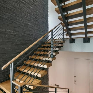 75 Beautiful Modern Staircase Pictures Ideas September 2020 | Modern Stairs Design Indoor | Contemporary | Concrete | Beautiful Modern | Fancy | Interior