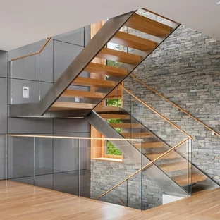 75 Beautiful Modern U Shaped Staircase Pictures Ideas   Modern U Shaped Staircase   Design   Floating   Interior   Amazing Modern   Oval Shaped