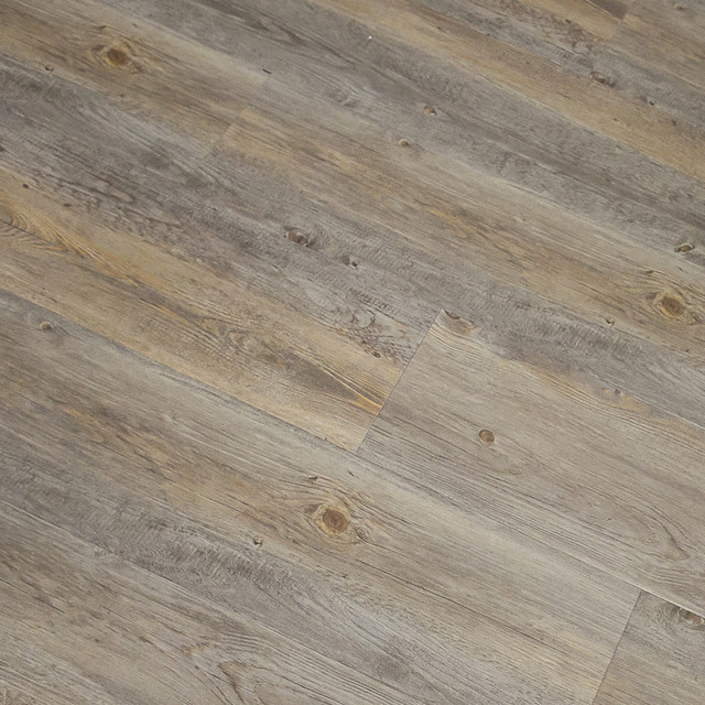 Wide Plank Grey Wood Flooring