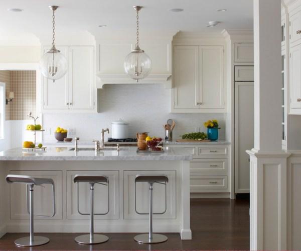 pendant lighting over kitchen island # 21