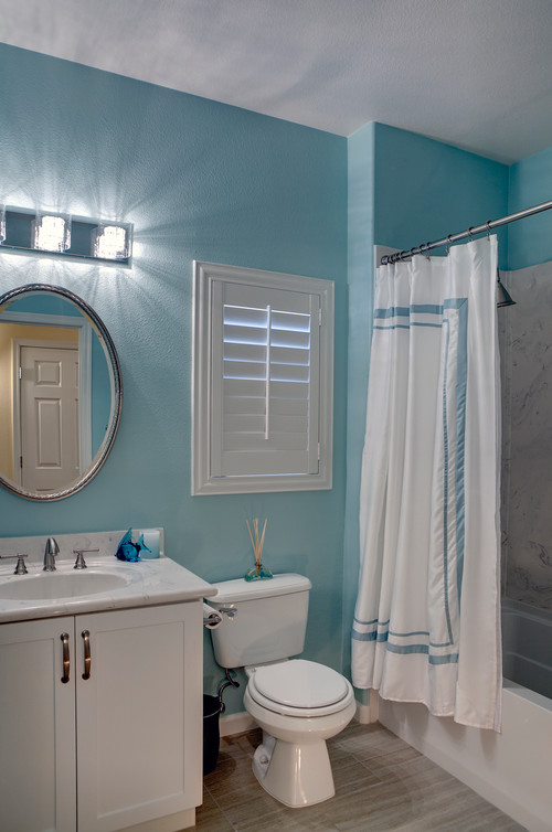 Teal And Gray Bathroom Decor