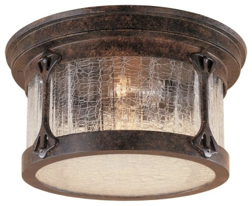 Canyon Lake 12  Flushmount   Rustic   Flush mount Ceiling Lighting     Canyon Lake 12  Flushmount