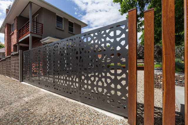 Gates And Balustrade Metal Art Ideas Modern Exterior