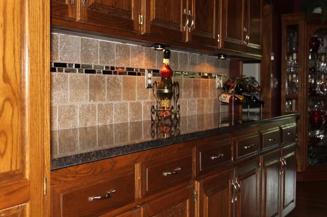 Tan Brown Granite Traditional Kitchen Kansas City