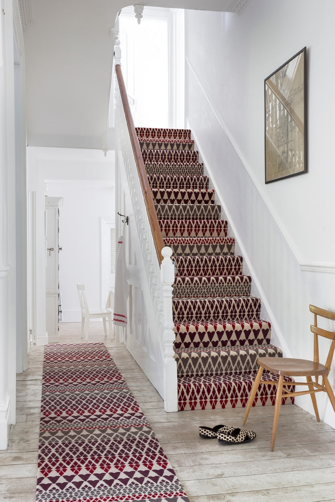 Alternative Flooring Quirky B Fair Isle Reiko Carpet | Quirky Carpets For Stairs | Designed | Statement | Popular | Flower Patterned | Flowery