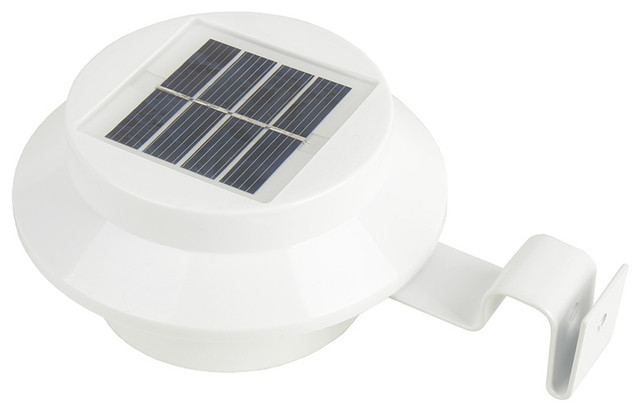 Solar Powered Outdoor Wall Sconce