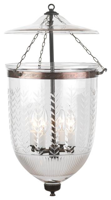 Bell Jar Pendant Light
