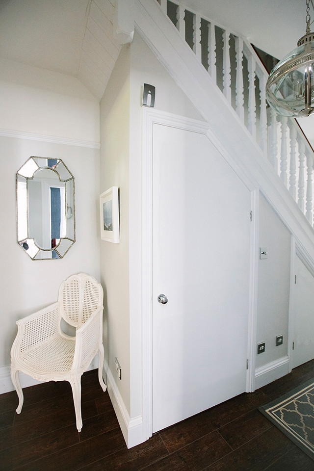 Under Stairs Toilet Contemporary Powder Room London By My   Under Stair Toilet Design   Toilet Separate   Small   Powder Room   Down   Minimalist
