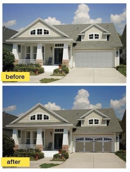 Before And After Garage Makeovers Craftsman Garage