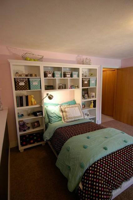 Teen Bedroom Built Ins Traditional Kids Grand Rapids