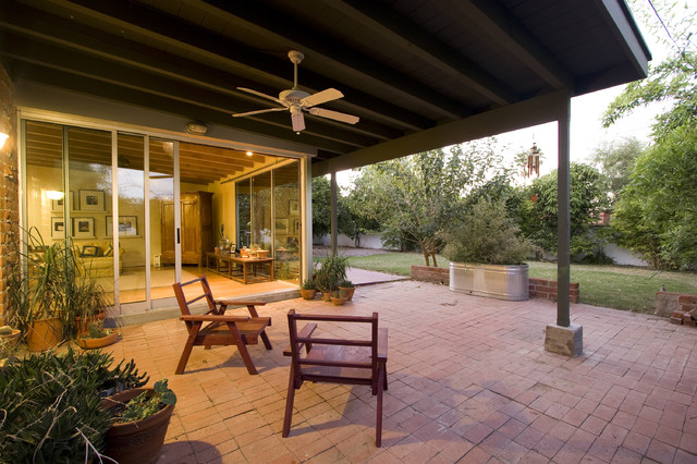 Covered Patio Modern Patio Phoenix By Brooks