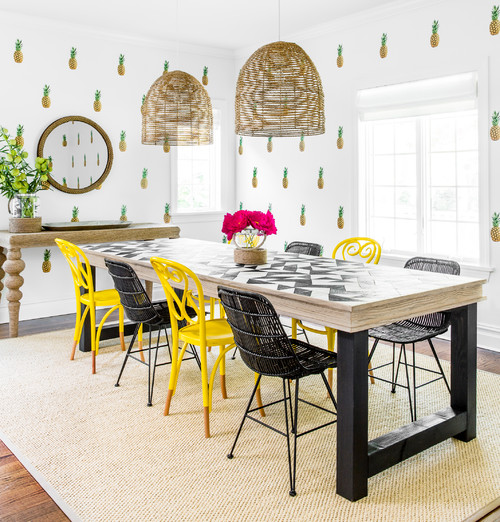 Trend Alert  Pineapple Home Decor Inspiration