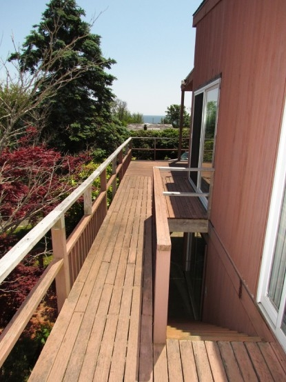 Color Finish Exterior Of Mid Century Modern Also Ideas   Mid Century Modern Banister