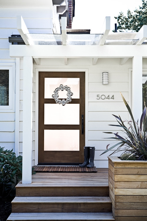 Shut The Front Door And Then Do This To It The Maids Blog | Modern Front Door Steps | Entrance | Bungalow Entrance | Modern House | Contemporary | Garden Entrance