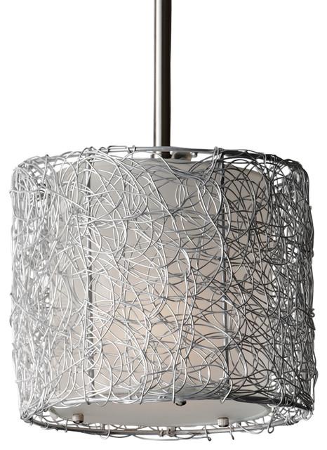 drum shade mini pendant light # 14