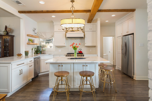 Louisiana Modern Traditional Remodel Farmhouse Kitchen