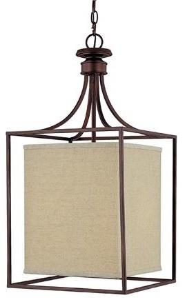lantern pendant with shade # 5