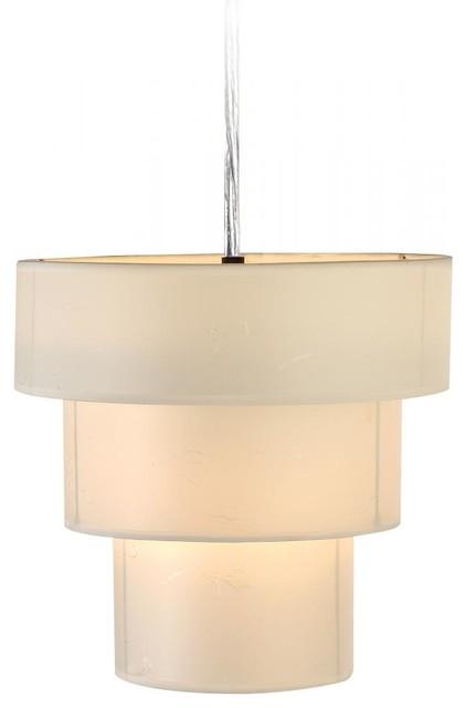 Brushed Nickel Mini Pendant Light Fixture