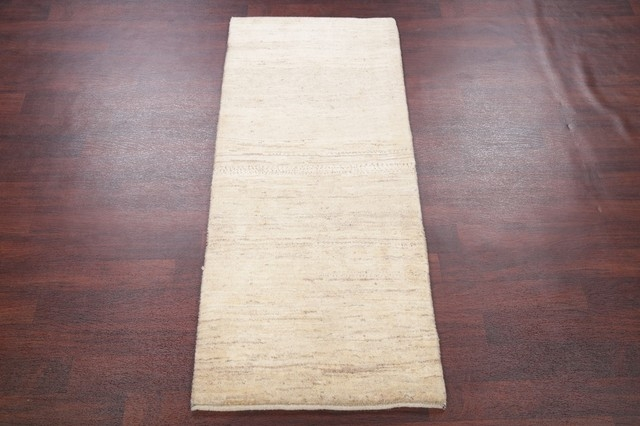 Thick Pile Ivoryoriental Shiraz Modern Solid Color Persian Rug | Solid Color Stair Runners | Modern Stair | Stair Carpet Runner | Washable | Rubber Backed | Self Adhesive