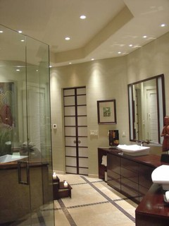 A Japanese Bath House Asian Bathroom Dallas By
