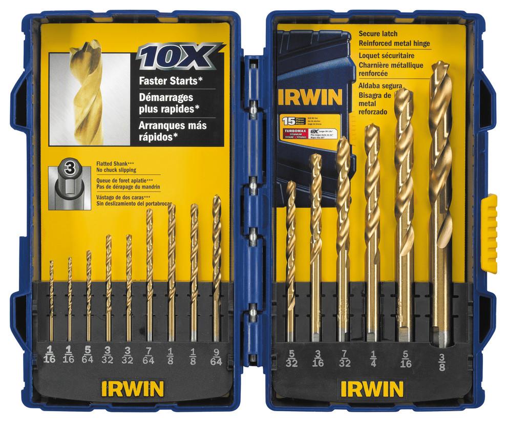 NEW Irwin Industrial Tools 3046008 1-1//2-In 3-Cutter Self Feed Drill Bit