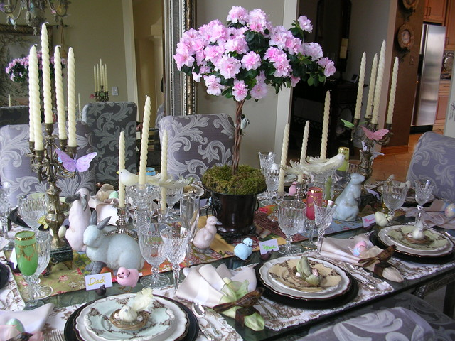 Easter Table Eclectic Dining Room Chicago By