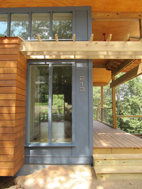 Affordable Modern Ranch Modern Exterior Atlanta By