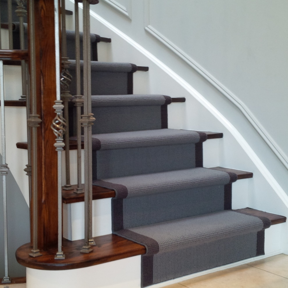 Wool Carpet Runner For Oak Stairs Traditional Staircase | Carpet For Wooden Stairs | Search And Rescue | Bedroom | Carpeted Stair Railing Wooden Floor | Transition | Beautiful