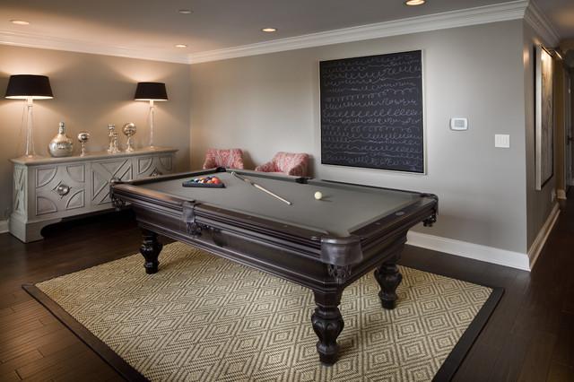Billiard Room Decor Interior Design