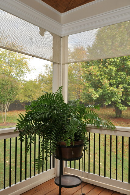Screen Porch Traditional Porch Atlanta By