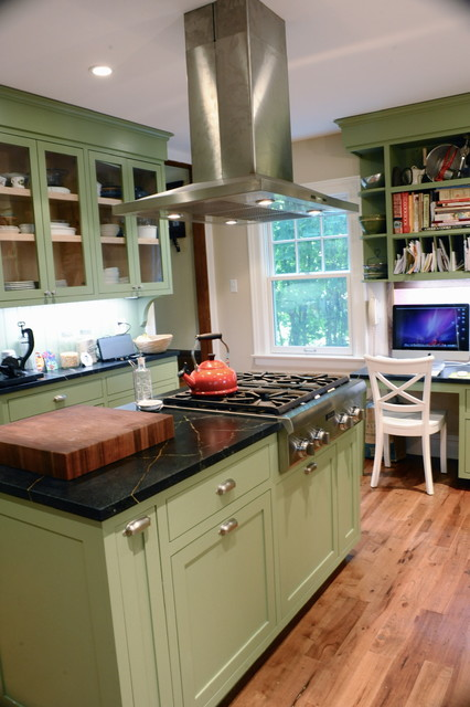 Kitchen And Family Room Renovation Traditional Kitchen