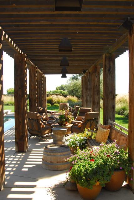 Napa Style Residence Mediterranean Patio Sacramento