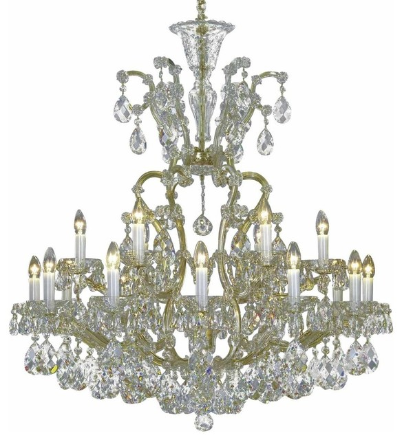 crystal chandelier traditional # 2