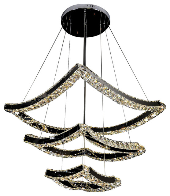 crystal chandelier tiered # 61