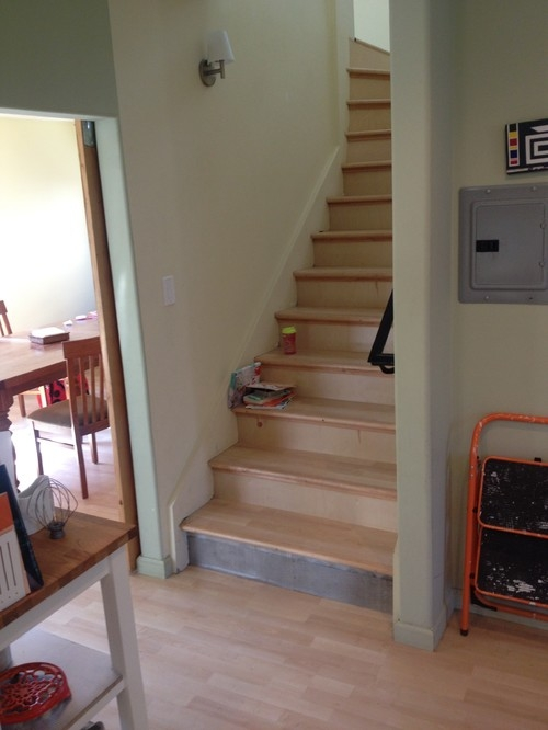Adding A Door At The Bottom Of This Tricky Stairway | Adding Stairs To Basement