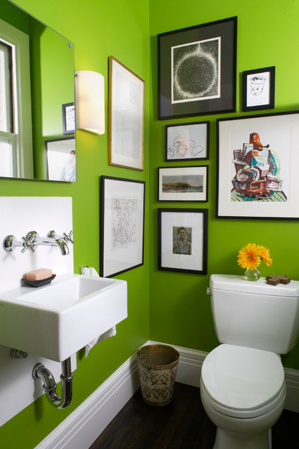 Rustic Bathroom Lighting