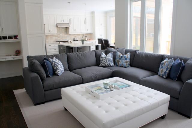 Home Decorators Tufted Sofa