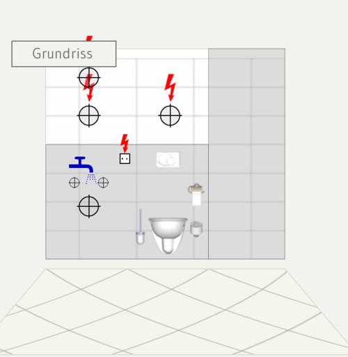Steckdose Bad Abstand Waschbecken – Wohn-design