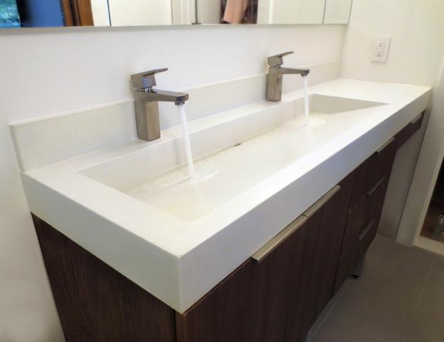 72 Double Sink Bathroom Countertop