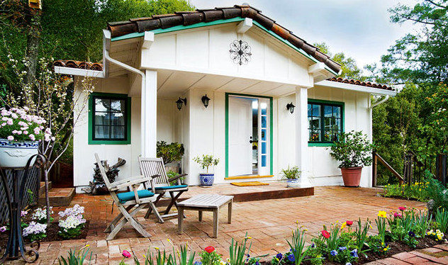 Spring S Cottage One Bedroom Spanish Style Cottage