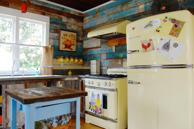 My Houzz: Colorful Vintage Finds fill a Chic Modern ...