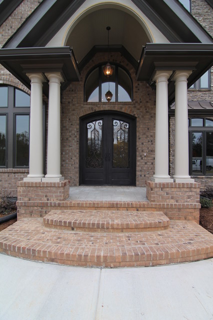 Luxury Home Front Entrance Traditional Exterior