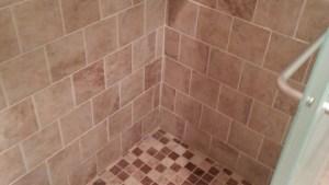 Mesa Beige Tiles Traditional Bathroom Detroit By