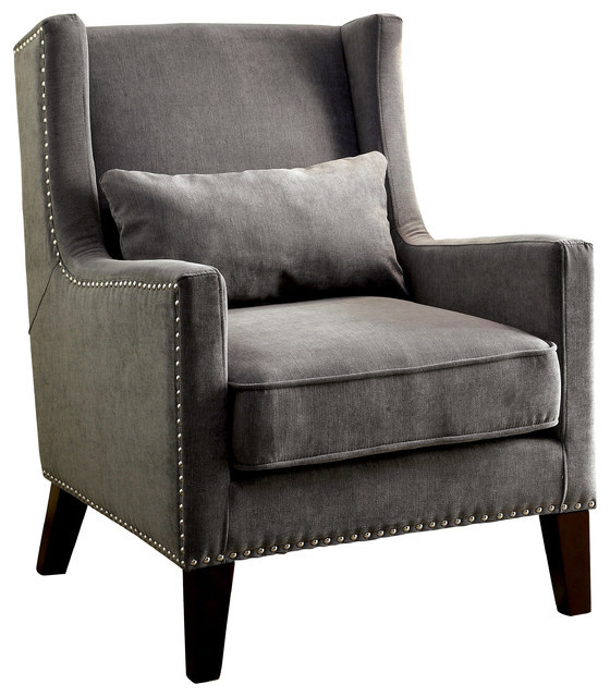 Armchair Back High Accent
